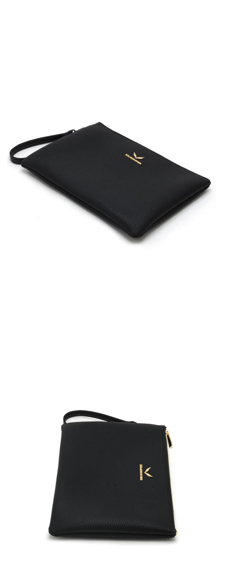 마틴콕스(MARTINCOKS) 크리스 클러치백 [블랙] CH-DS-BLACK-GOLD